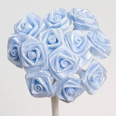 Blue Ribbon Roses