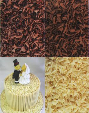 Cake Decorating Chocolate Curls : Chocolate Curls Chocolate Curls for Cake Decorating.