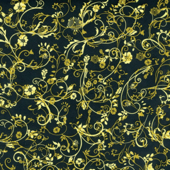 Gold Flowers Chocolate Transfer Sheets