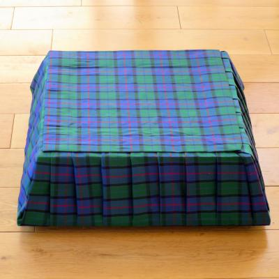 Flower of Scotland Square Tartan Cake Stand