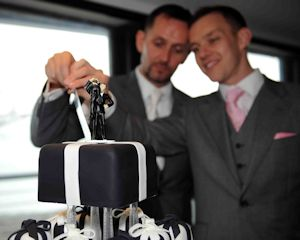 Civil Partnership Cakes