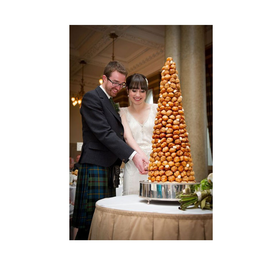 French croquembouche with almonds french croquembouche wedding cakes