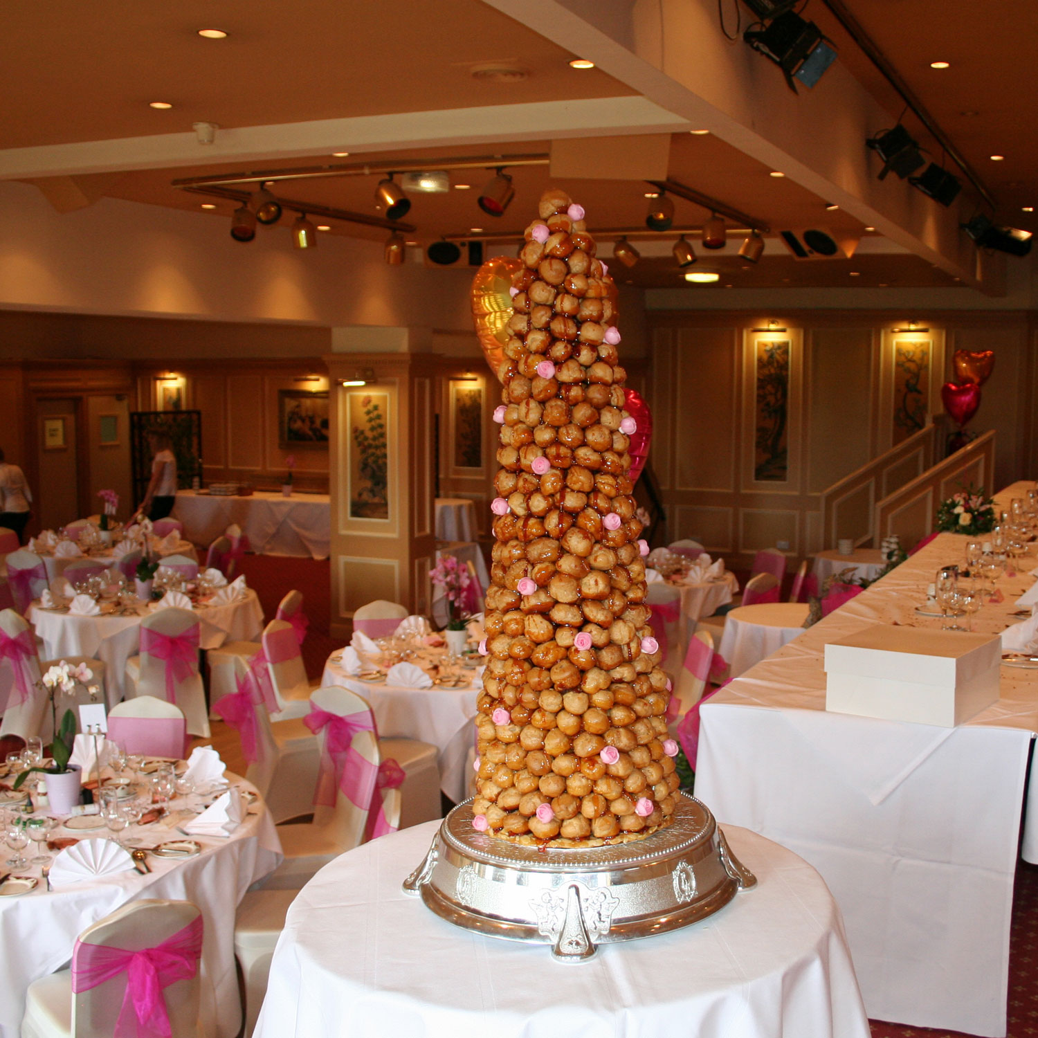 Croquembouche French Croquembouche Wedding Cakes