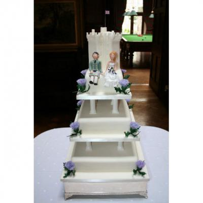 Dundas Castle Wedding Cake