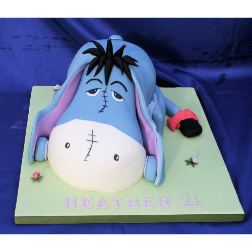 Eyore Birthday Cake