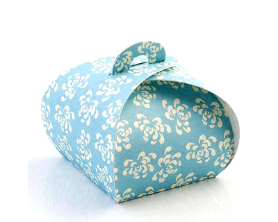 Vintage Blue Wedding Favours