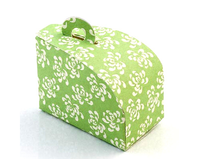 Vintage Green Wedding Cake Boxes