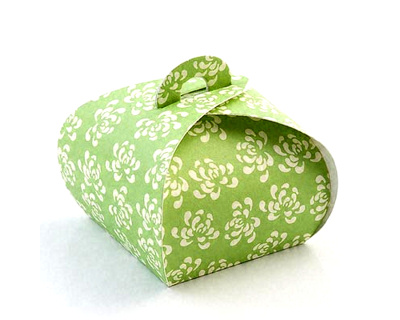 Vintage Green Wedding Favours