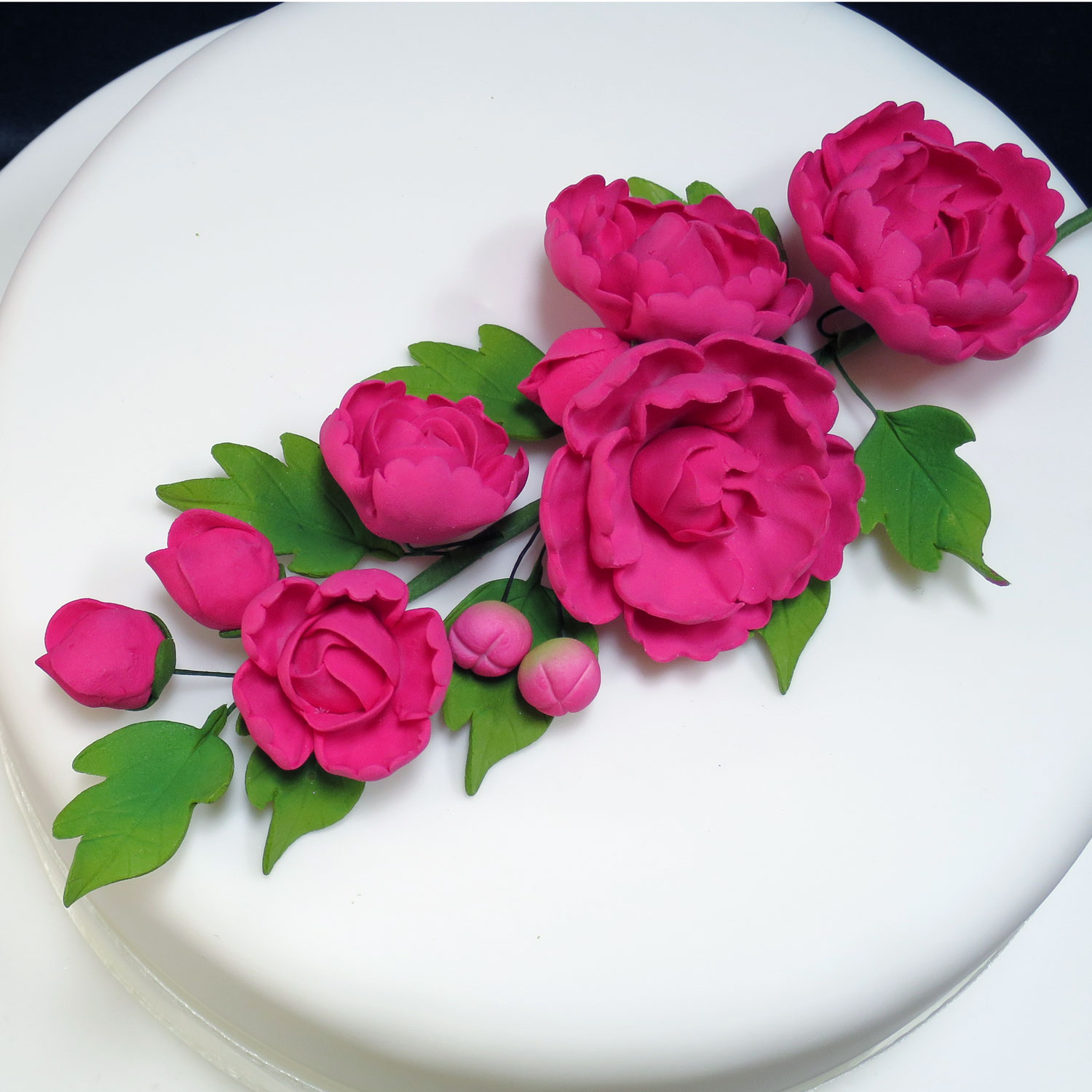 Sugarcraft Flowers Wedding Cakes Edinburgh, Scotland