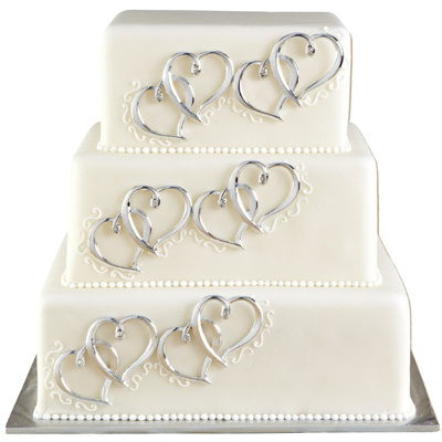 Cake Toppers Contemporary Wedding Cake Toppers, Bride and ...