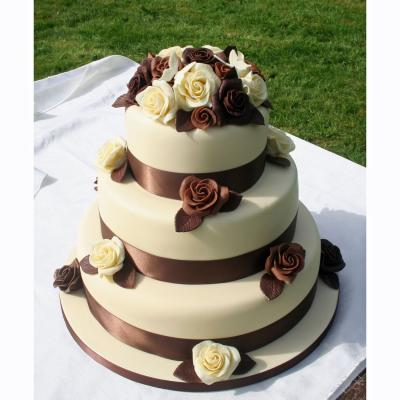 Hot Chocolate Wedding Cake