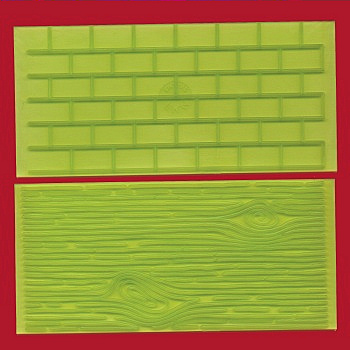 Tree Bark and Brick Wall Impression Pads