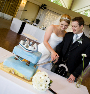 Wedding Cake, Atholl Palace, Perth