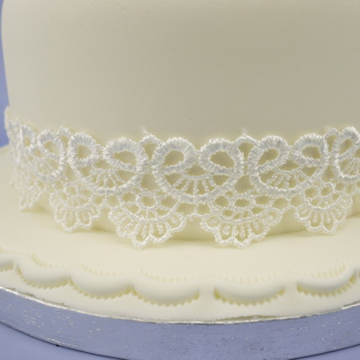 Ivory Lace Ribbon