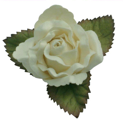 Cream Roses for Cake Decorations