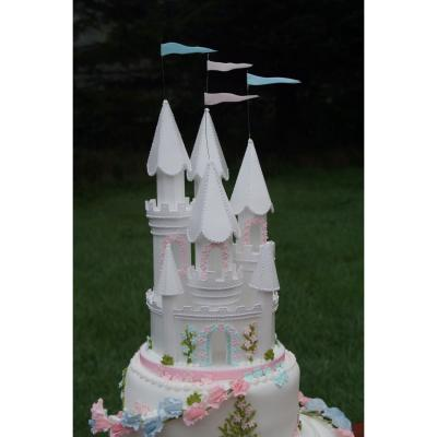 Fairytale Castle Wedding Cake Topper