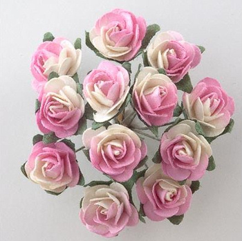 Miniature Tea Roses for Wedding Favours