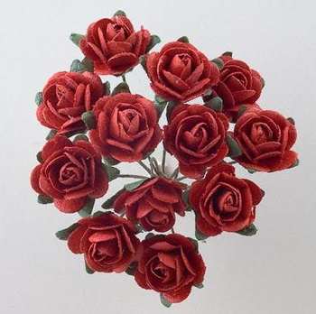 Red Roses for Wedding Favours