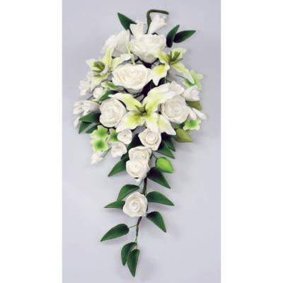 White Mixed Sugarcraft Bouquet
