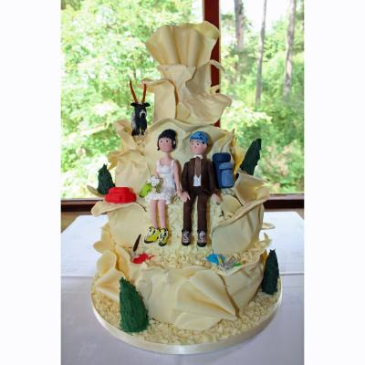 Mr & Mrs Munro Wedding Cake