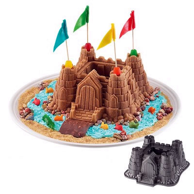 Castle Cake and Castle Cake Tin