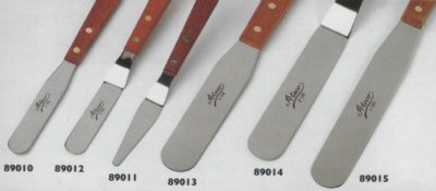 Selection of Palette Knives