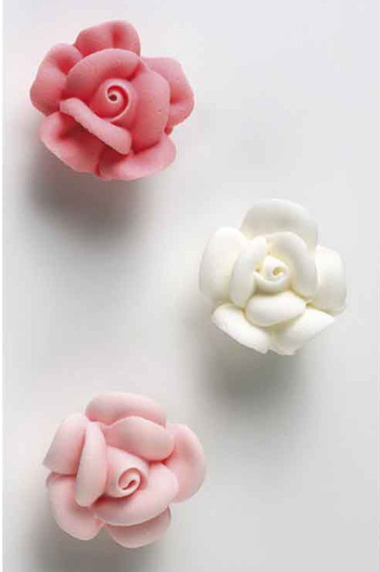 Piped Sugar Roses