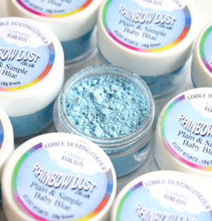 Blue Edible Dust
