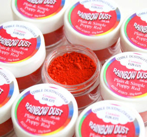 Rainbow Edible Red Dust