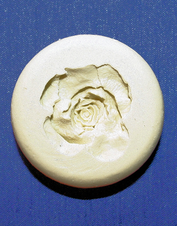 Small Rose Head Mould