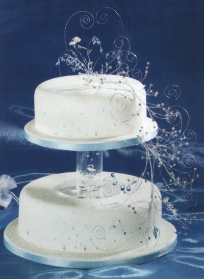 Separator Bubble Wedding Cake Separator