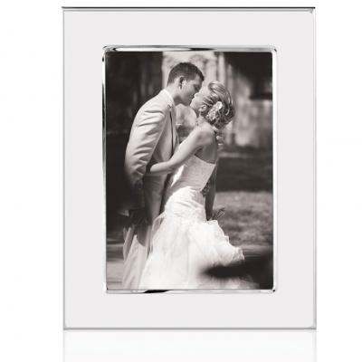 silvSilver Plated Wedding Photo Frame