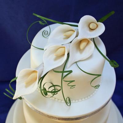 Calla Lily Cake Topper