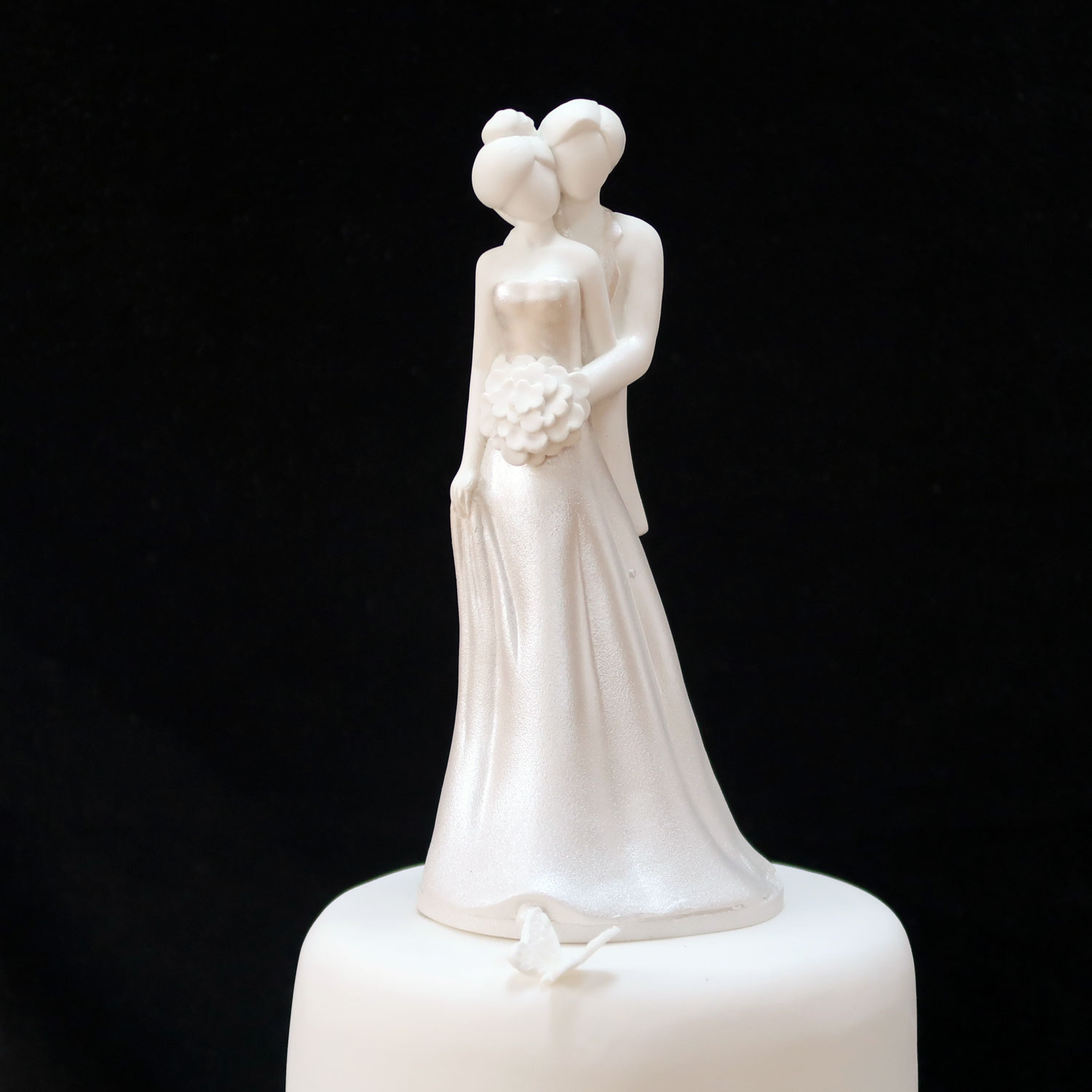 Sugarcraft Bride Groom Cake Topper
