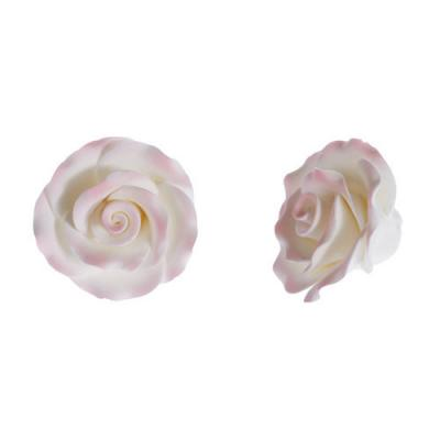 Pink Tip Edible Sugar Roses