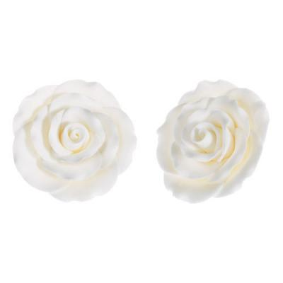 Large White Sugar Roses