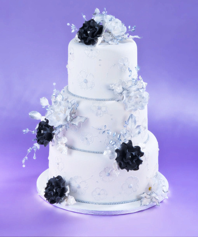 Sugar Rose Cake Design : Crystal Sugar Rose Crystal Sugar Roses for Wedding Cakes