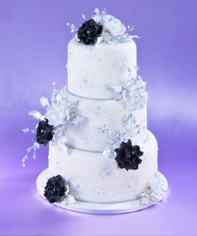 Crystal Sugar Rose Crystal Sugar Roses for Wedding Cakes