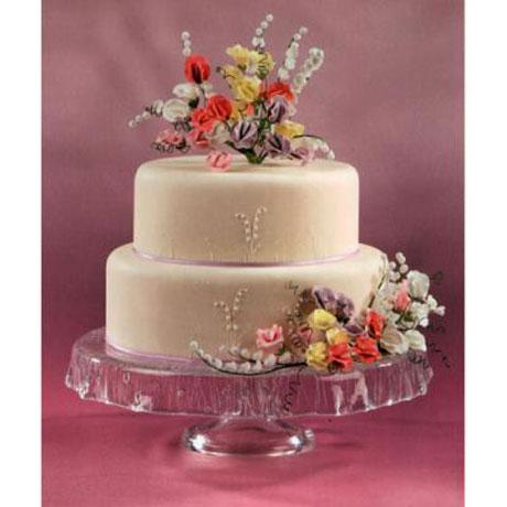 Sweet peas sugar sweet peas cake decorations wedding cake decorated with sugar sweet peas junglespirit Choice Image