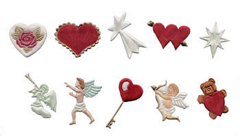 Hearts and Cherubs Tappit Set