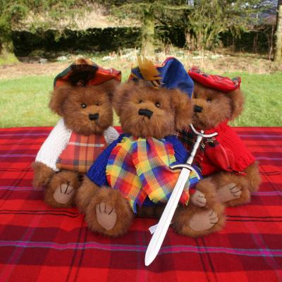 Hamish Tartan Wedding Bears