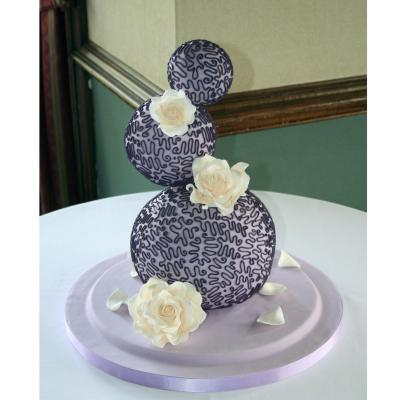 Three Tier Wedding Spheres