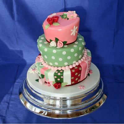 Wonky Wedding Cakes in any size or colour theme
