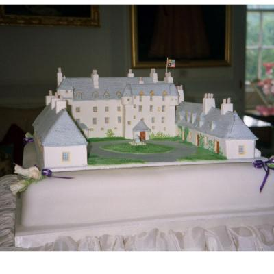 Traquair House Wedding Cake