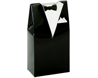 Black Tuxedo Wedding Favours