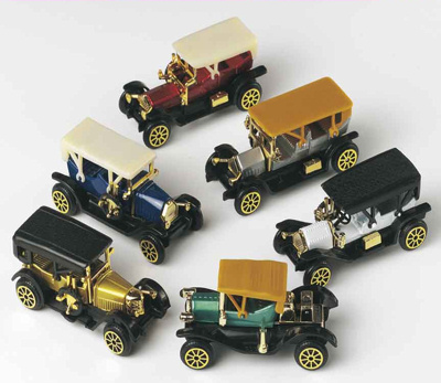 Vintage Car Cake Toppers