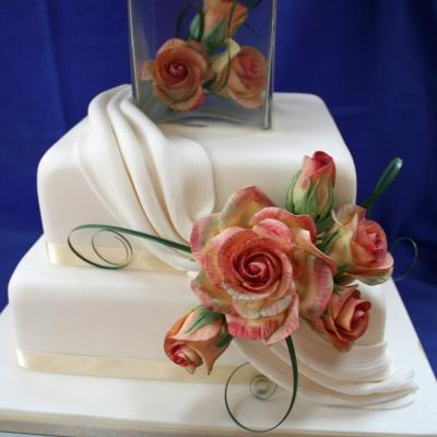 Sugarcraft Metallica Roses