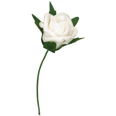 Medium foam roses foam roses for wedding decorations in five popular white foam rose mightylinksfo