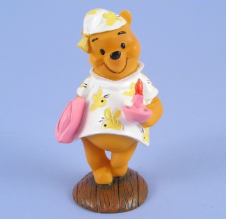 Winnie Pooh Bedtime Cake Topper